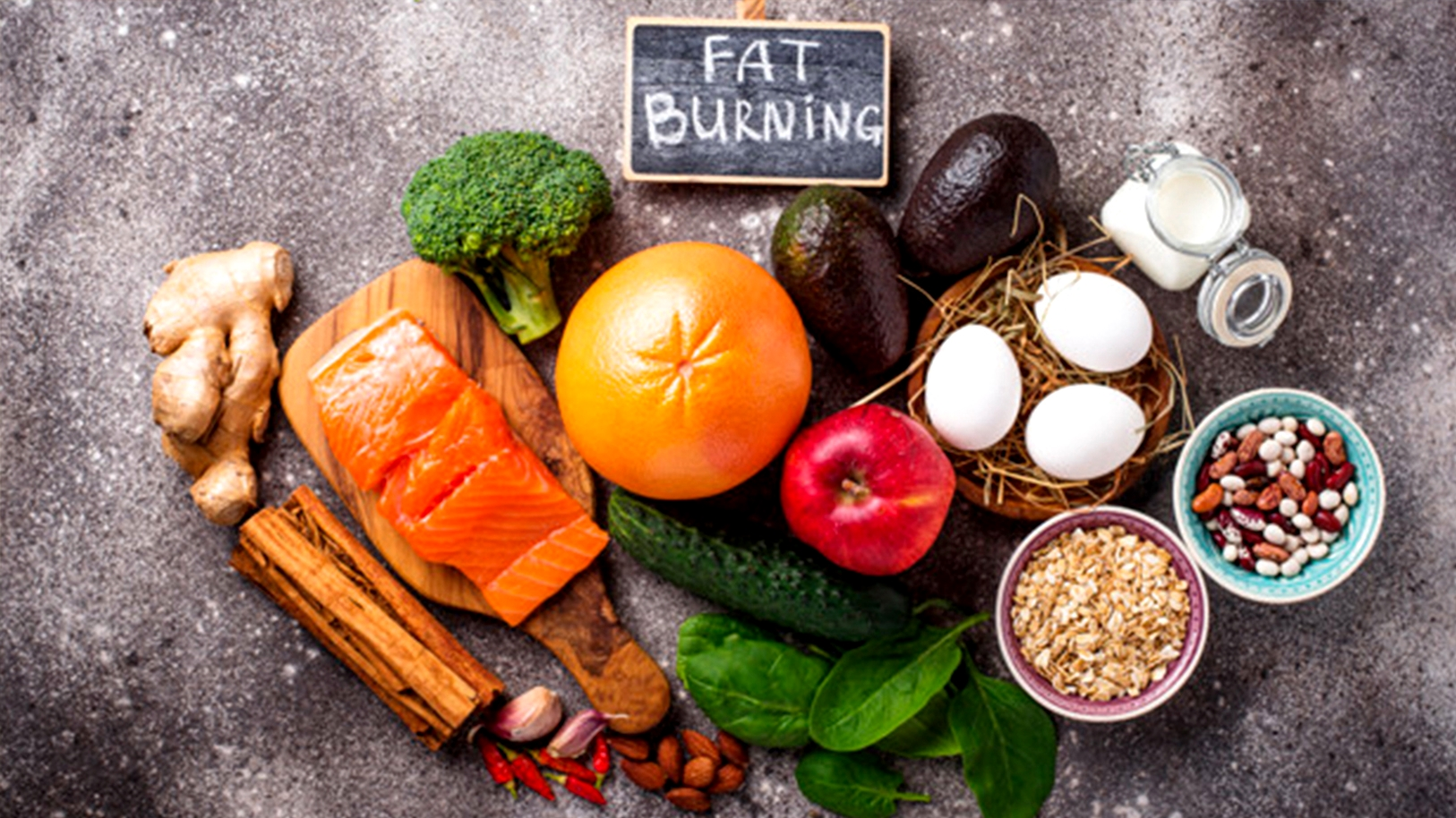 Healthy and Fat Burning Foods